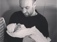 Mathieu Valbuena, papa : Première photo avec sa petite Léa !