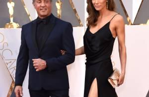 Sylvester Stallone et sa sculpturale Jennifer mènent les couples des Oscars 2016
