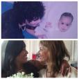 Amel Bent et sa mère, un cliché révélé le 9 octobre 2015.