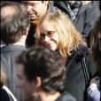 Elisabeth Depardieu aux obsèques de Guillaume Depardieu