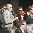 Ludivine Sagnier, Jean-Pierre Marielle et sa femme aux obsèques de Guillaume Depardieu