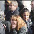 Julie et Roxane Depardieu aux obsèques de Guillaume Depardieu