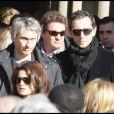 Gad Elmaleh aux obsèques de Guillaume Depardieu