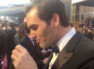 Oscars 2016 : Quand Roger Federer boit un verre de tequila sur le tapis rouge...