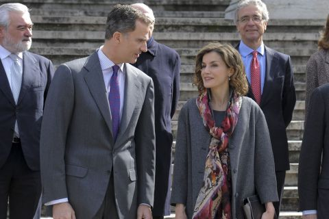 Letizia d'Espagne : Plongée stylée dans le mythe Cervantes avec Felipe