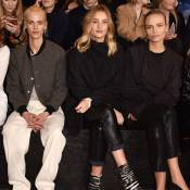 Fashion Week : Rosie Huntington-Whiteley et Malika Ménard, modeuses actives !