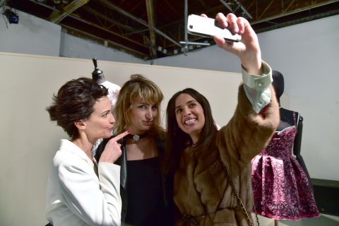 Fashion Week : Linda Hardy, fashionista sublime avec Pauline Lefèvre