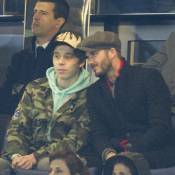 Chelsea-PSG : David Beckham et Brooklyn complices face au clan Sarkozy