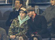 Chelsea-PSG : David Beckham et Brooklyn complices face au clan Sarkozy
