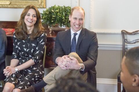 Kate Middleton et William : Complices avec deux nouveaux amis face au suicide