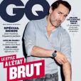 Gilles Lellouche en couverture de GQ