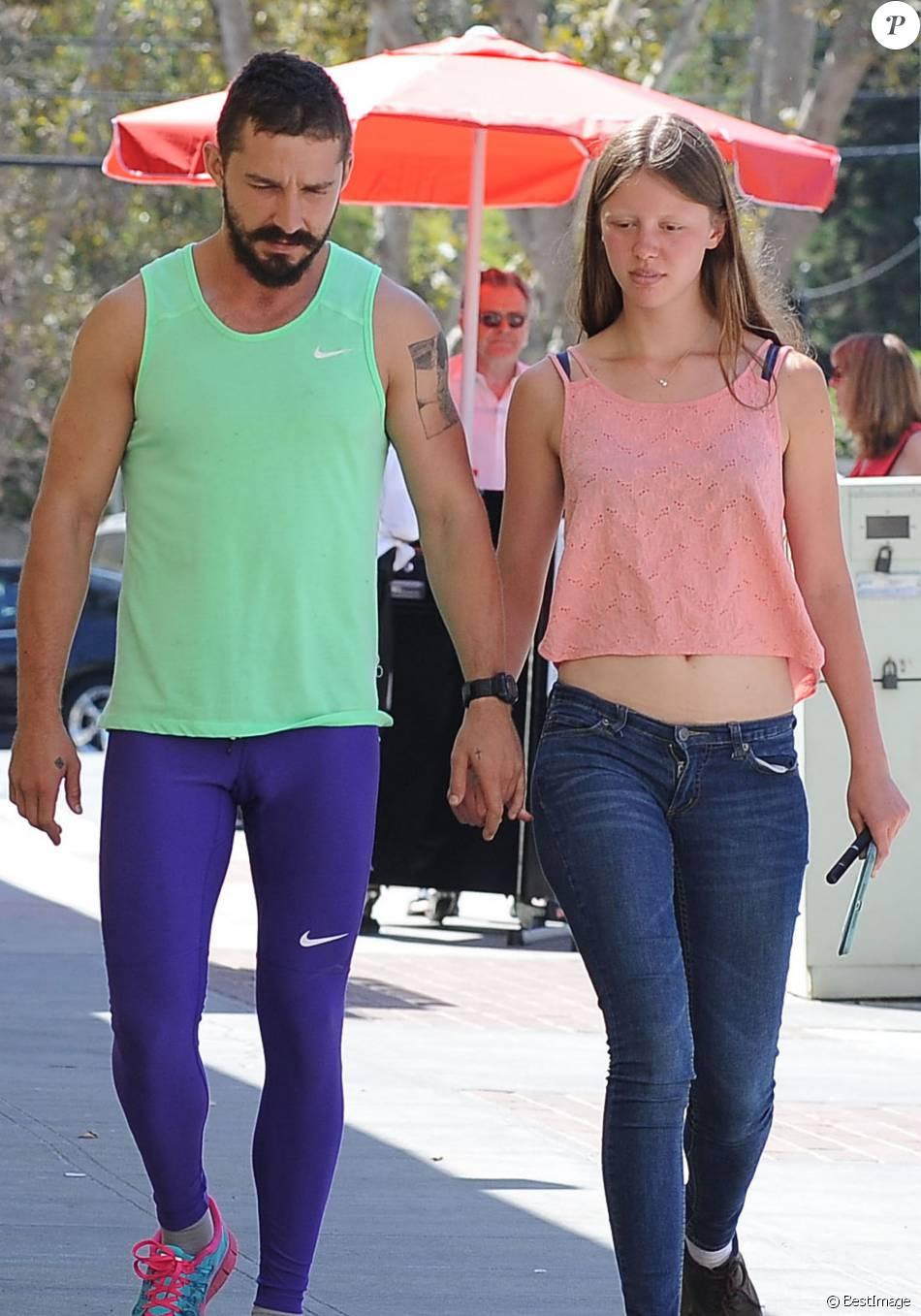 Shia LaBeouf et sa petite amie Mia Goth vont prendre leur ...