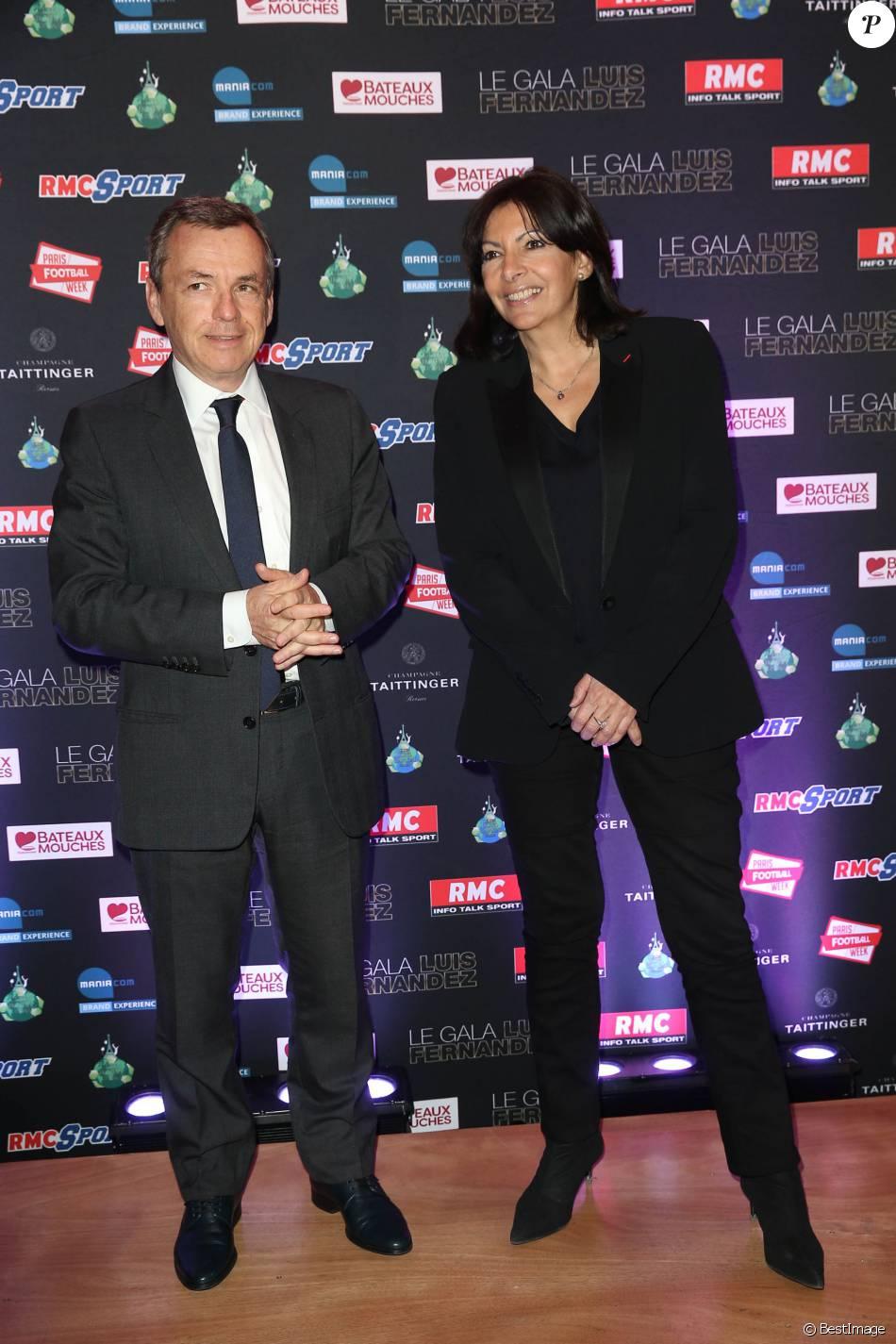 Alain Weill, Anne Hidalgo , Soirée de gala en l039;honneur de