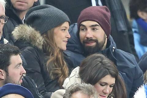 Nikola Karabatic en amoureux au SdF avec Géraldine, enceinte de 8 mois