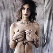 Emily Ratajkowski topless : Une muse très précieuse