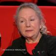 """Agnès B. évoque l'inceste dont elle a été victime dans l'émission """"Le Divan"""", sur France 3, le 30 mars 2016."""