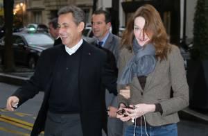 Nicolas Sarkozy et Carla radieux pour faire la Révolution avec