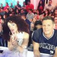Shera Kerienski : La star de Youtube est devenue chroniqueuse dans TPMP. Ici aux côtés de Matthieu Delormeau et son ami Issa Doumbia
