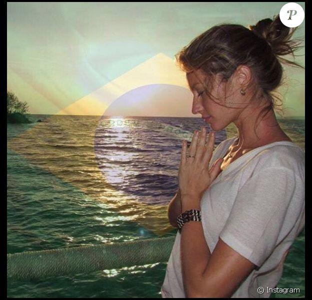 Gisele Bündchen est sans doute la Yogi star la plus médiatisée de la planète