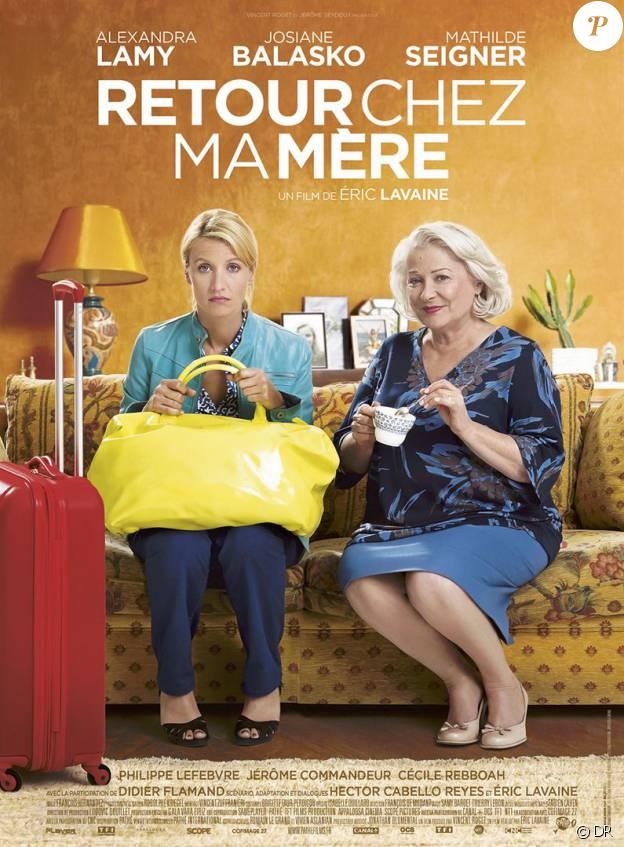 Affiche du film Retour chez ma mère, en salles le 1er juin