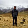 Kev Adams sur le tournage du film Number One en Inde. Photo publiée sur Instagram, le 12 avril 2016.