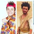 Kev Adams a publié un photo montage de ses trois derniers films. Photo publiée sur Instagram, le 8 avril 2016.