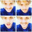 Kev Adams dévoile sa nouvelle coupe de cheveux. Photo publiée sur Instagram, au mois d'avril 2016.