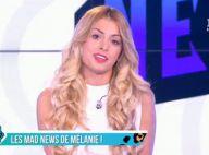 Mélanie (Les Anges 8) future chroniqueuse du Mad Mag ? Casting en direct