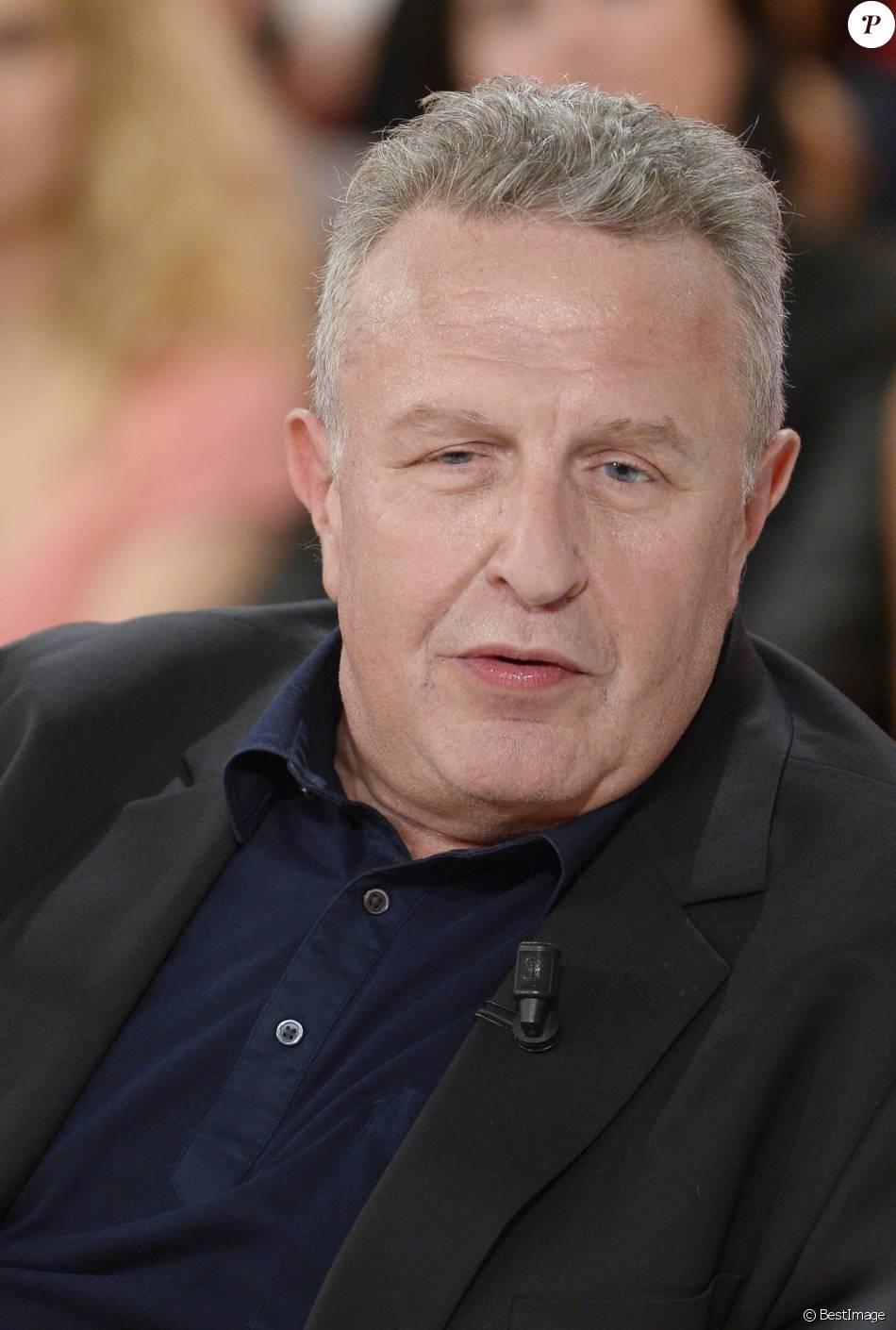 Michel Field, sur le tournage de  Vivement dimanche  le 7 mai 2014.