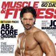 Joe Manganiello en couverture du magazine Muscle & Fitness