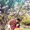 Le Gyalsey Jigme Namgyel Wangchuck, fils du roi-dragon Jigme Khesar Namgyel Wangchuck du Bhoutan et de la reine Jetsun Pema, photographié le 19 février 2015, à l'âge de deux semaines. Photo : Facebook couple royal du Bhoutan.