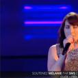 """""""Mélanie, dans Nouvelle Star 2016 sur D8, le mardi 19 avril 2016."""""""