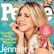"""Jennifer Aniston, plus belle femme du monde : """"Je suis excitée comme une ado !"""""""