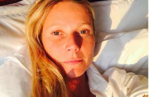 Gwyneth Paltrow, 43 ans : Selfie au réveil sans maquillage