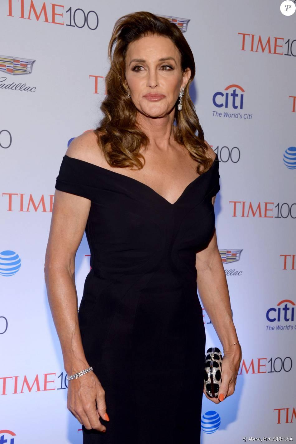 Caitlyn Jenner  au   gala TIME   100 du magazine   Time au  Lincoln Center à New York City le 25 avril 2016