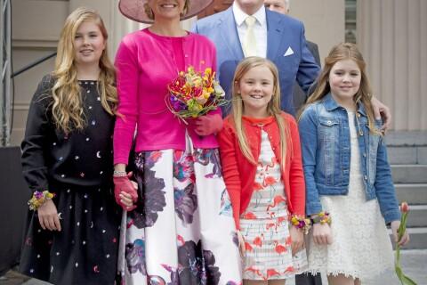 Catharina-Amalia, Alexia et Ariane des Pays-Bas: Chaud et froid à la Fête du Roi