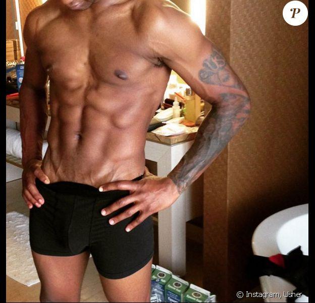 Photo d'Usher publiée le 23 novembre 2015.