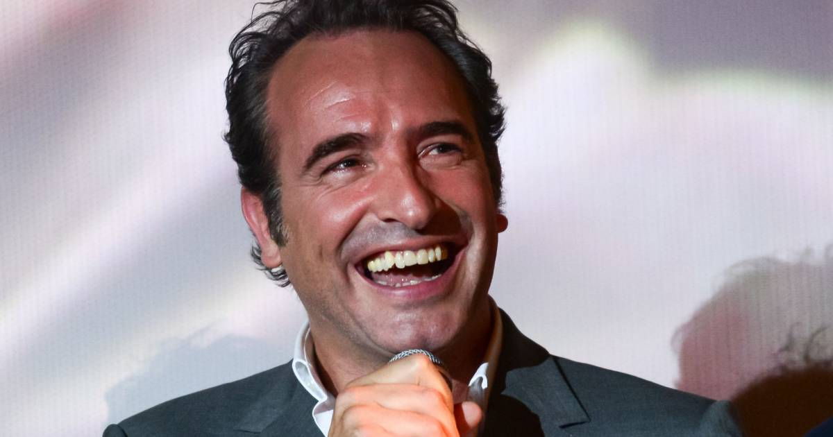 Jean dujardin avant premi re du film un une de claude for Film 2016 jean dujardin