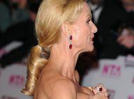 REPORTAGE PHOTOS : Nicollette Sheridan, oups... elle a rattrapé sa robe juste à temps !