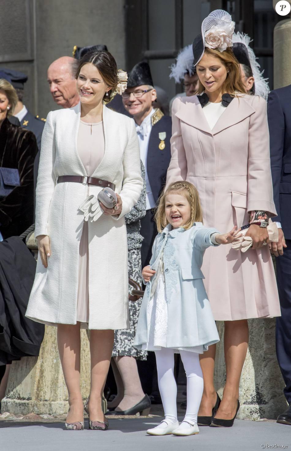 la princesse sofia hellqvist la princesse madeleine et la princesse estelle de su de. Black Bedroom Furniture Sets. Home Design Ideas