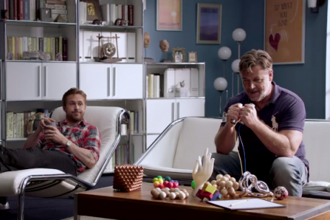 Russell Crowe et Ryan Gosling s'affrontent en thérapie de couples...