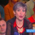 Isabelle Morini-Bosc, dans  Touche pas à mon poste  sur D8, le lundi 2 mai 2016.