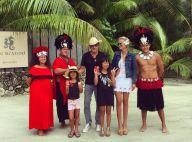 Johnny et Laeticia Hallyday : Amoureux sur l'île d'un monstre sacré du cinéma