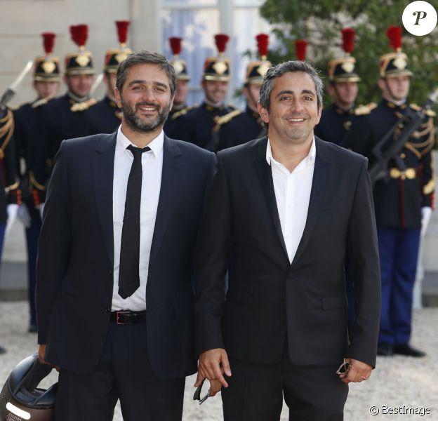 Olivier Nakache et Eric Toledano - Dîner d'état en l'honneur du couple royal d'Espagne offert par le président de la république au palais de l'Elysée à Paris. Le 2 juin 2015