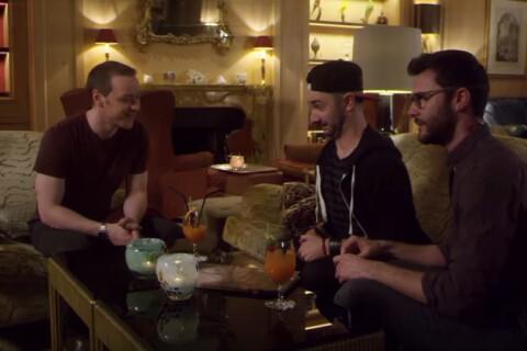 Cyprien et Julfou face à James McAvoy de X-Men : Du pur délire !