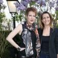 Natacha Polony et Anne-Claire Coudray - Prix de la Closerie des Lilas 2016 à Paris, le 12 avril 2016. © Olivier Borde/Bestimage