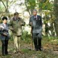 Le prince Charles et la princesse Takamado, avec C.W. Nicol