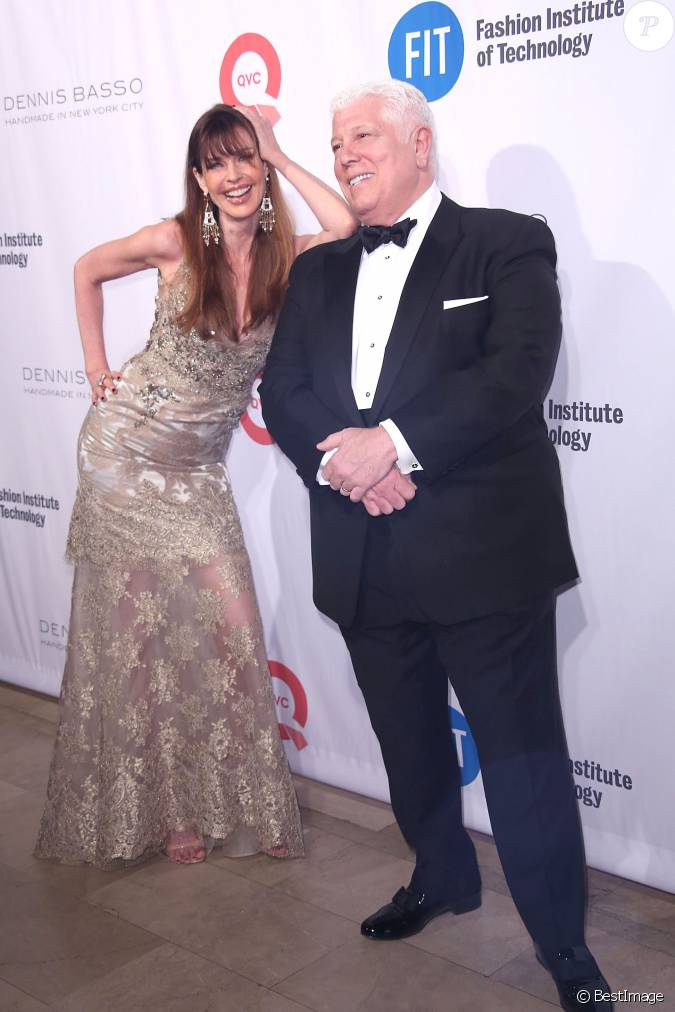 Carol alt et dennis basso people au fit gala 2016 new for Robes de mariage dennis basso