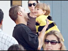 REPORTAGE PHOTOS : Kevin Federline qui a grossi  avec son fils Sean Preston... trop craquant !