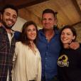 "Romain, Laureen, Pascal et Wendy de ""Koh-Lanta 2016""."